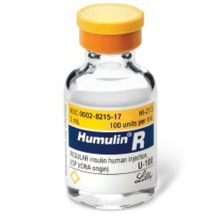 Humulin N Insulin U-100